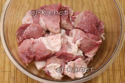 Свинина кусками