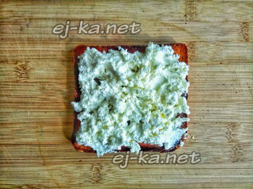 на хлеб намазать творожный сыр