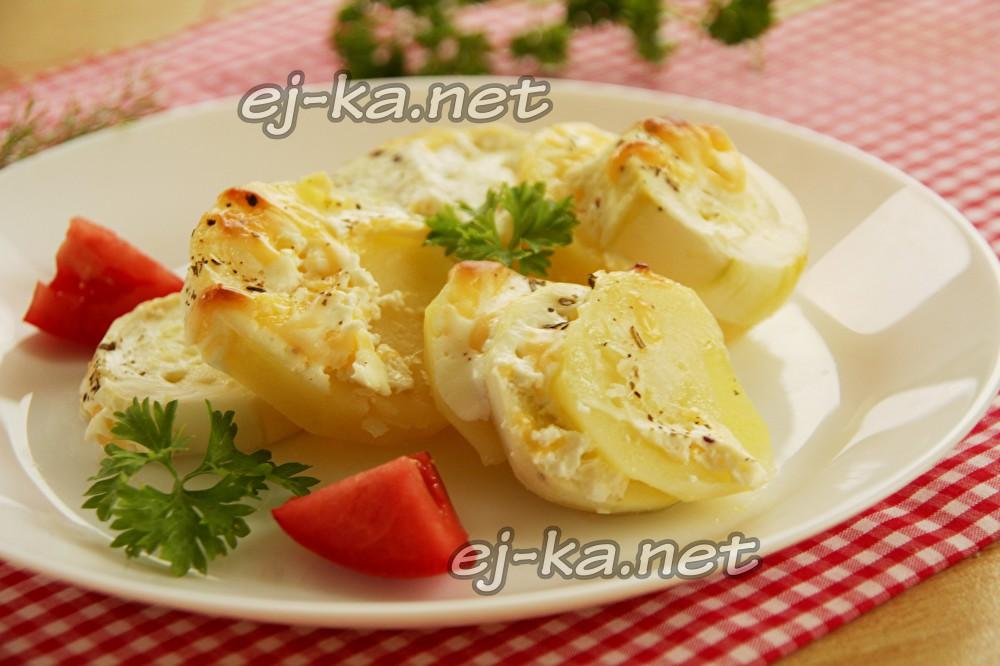 Кабачки с картошкой