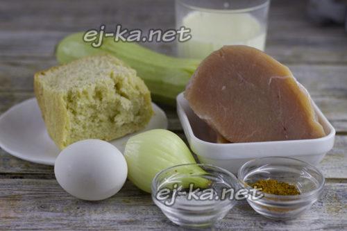 продукты для котлет