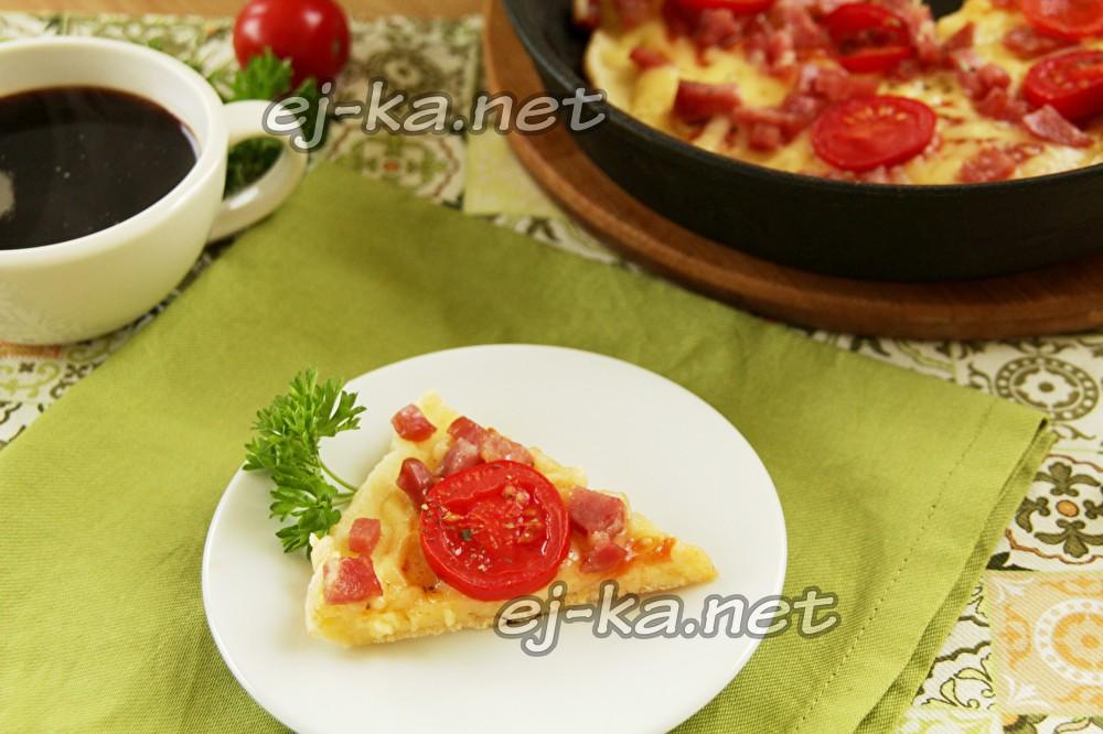 пицца на майонезе
