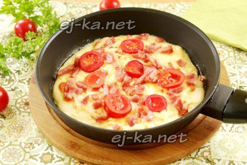 готовим пиццу 7-10 минут
