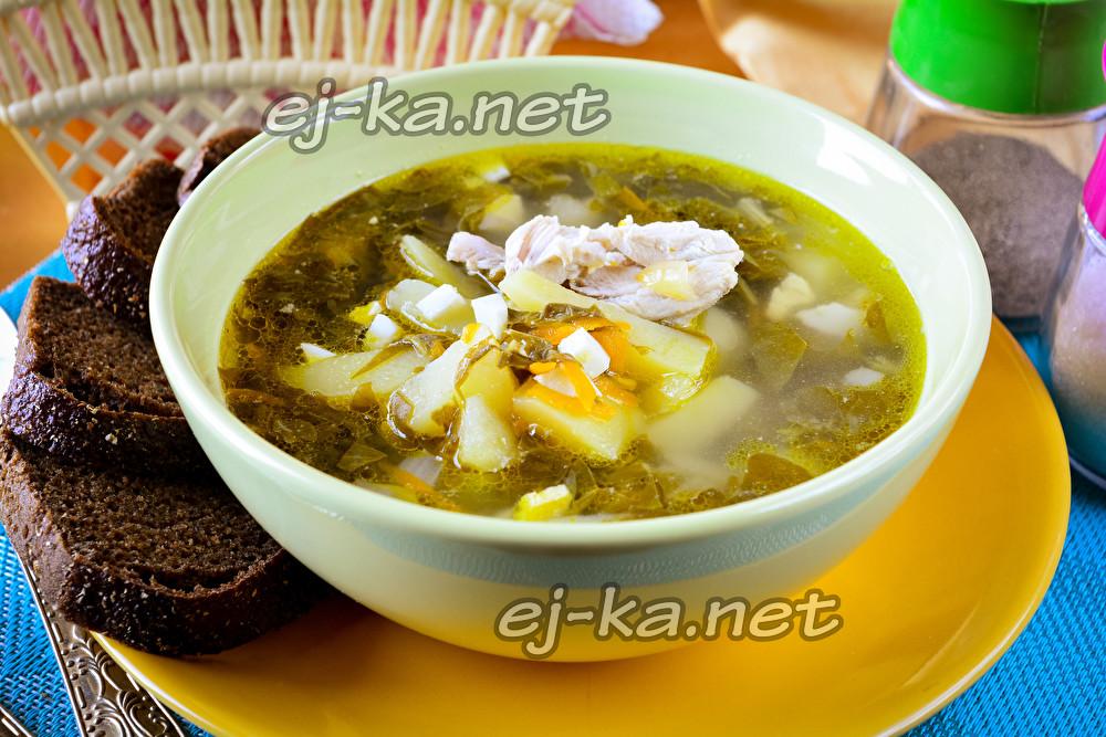 Щавельный суп с мясом