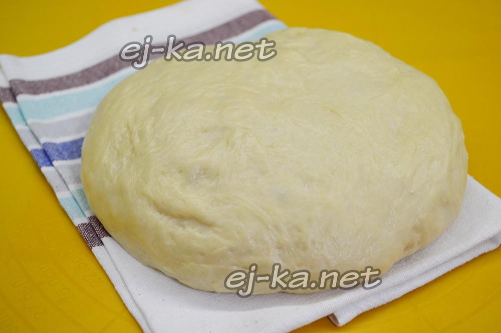 Тесто для булочек