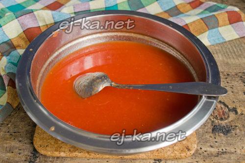 жидкое томатное пюре