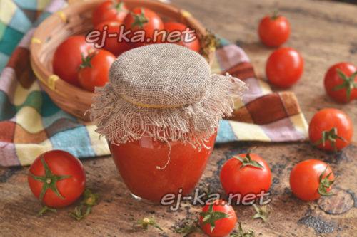 домашняя паста из помидор