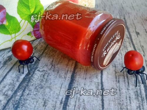сок из помидор на зиму