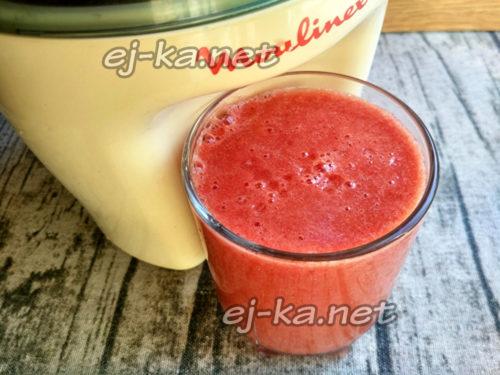 сырой сок из томатов