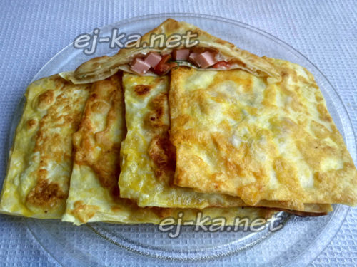 закуска на блюде