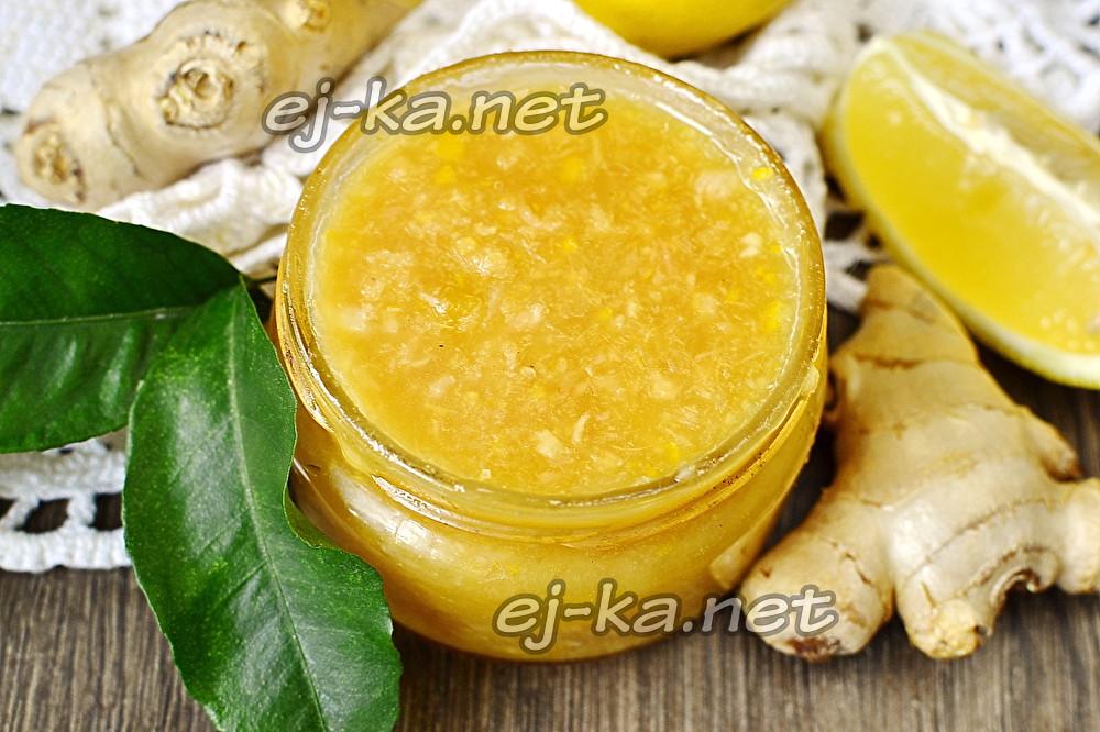 Как правильно приготовить мед с имбирем и лимоном