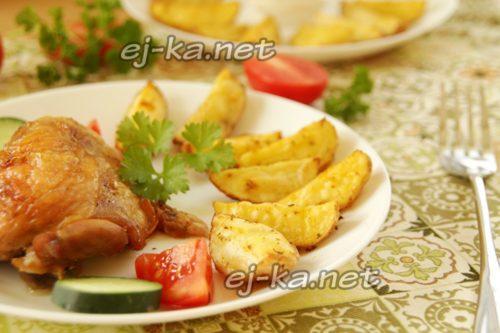гарнир к мясу из картошки