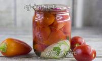 помидоры с болгарским перцем