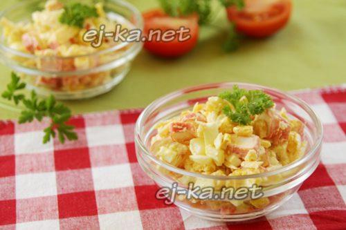 готовый салат в креманках
