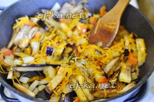 овощи обжарить