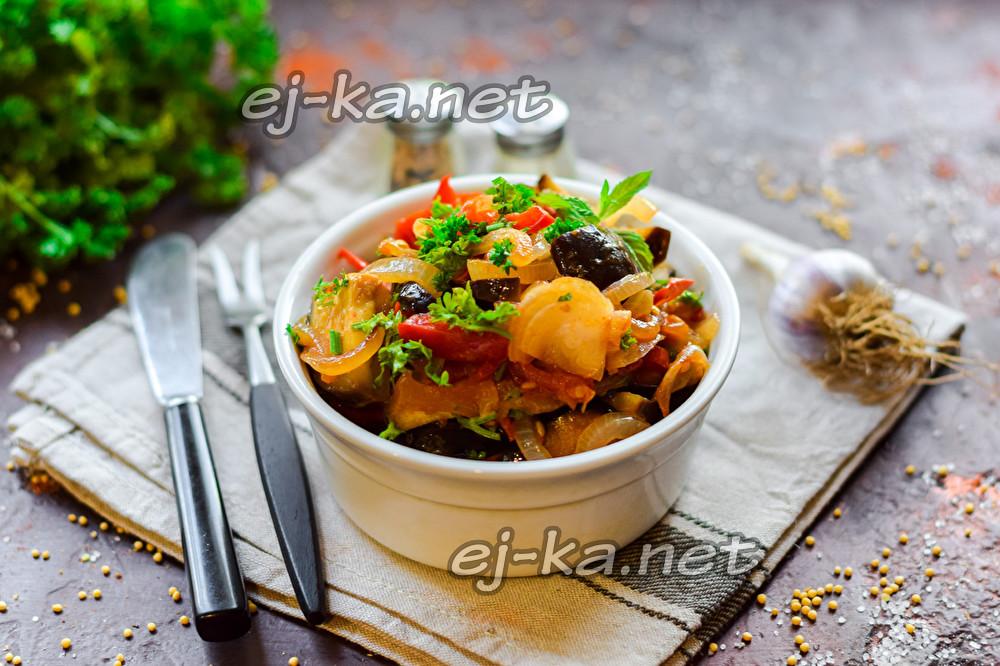 вкусный овощной гарнир