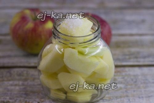 Добавляем лимонную кислоту