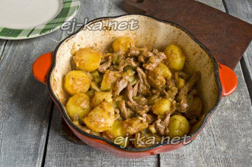 Вкусное азу по-татарски