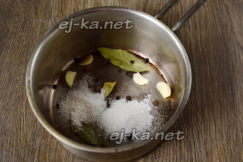 маринад на литр воды сколько соли