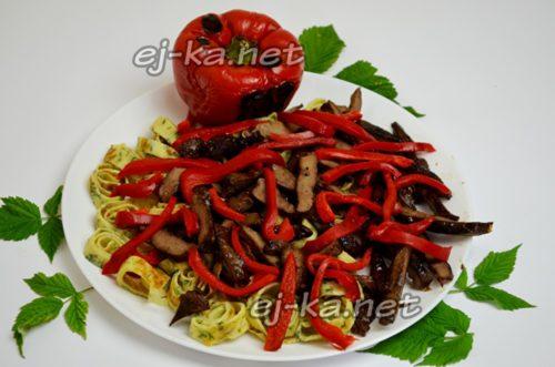слой болгарского перца