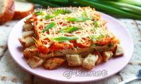 салат с морковкой по-корейски и курицей