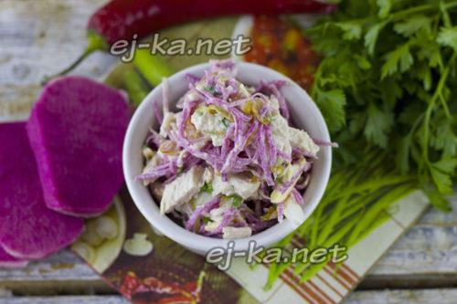 салат ташкент готов