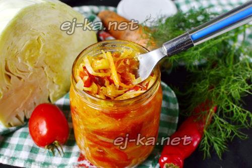 солянка из капусты на зиму готова