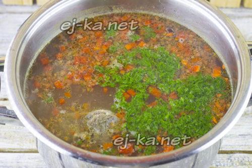 Добавить в суп болгарский перец