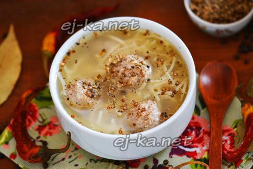 вкусный домашний суп