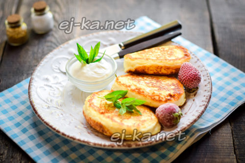 пышные и вкусные сырники