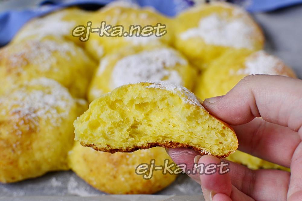 Творожные булочки, как пух