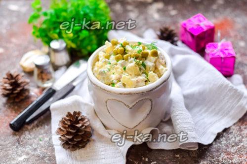 салат оливье на новый год