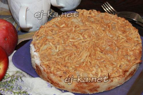 насыпной пирог три стакана