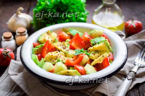 """салат """"Гармония вкуса"""" готов"""