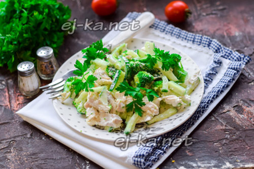 "салат ""90-60-90"" готов"