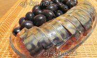 копченая скумбрия и маслины