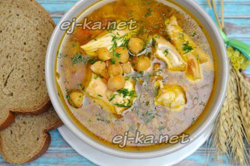 порезать мясо и добавить в суп