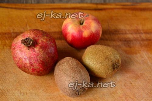 фрукты для блюда
