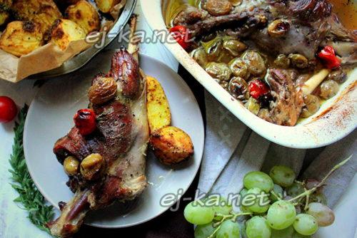 вкусное мясо козы на ужин