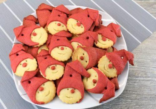"""Двухцветное печенье """"Озорные гномики"""""""