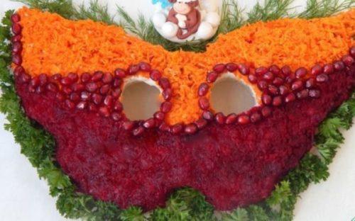 Салат «Праздничная маска»