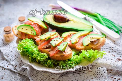украсить бутерброды зеленью