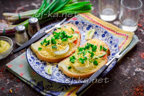 бутерброды с крабовыми палочками