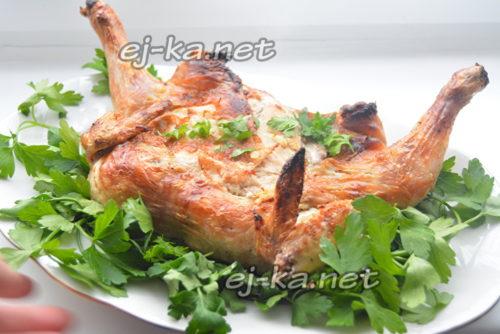 цыпленок табака готов