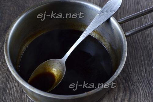 прокипятить соевый соус