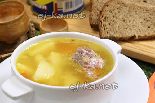 гороховый суп готов