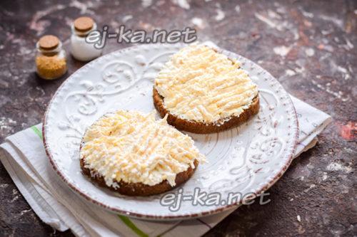 смазать хлеб