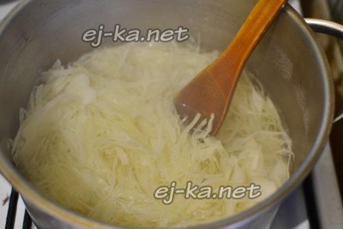 сварить капусту