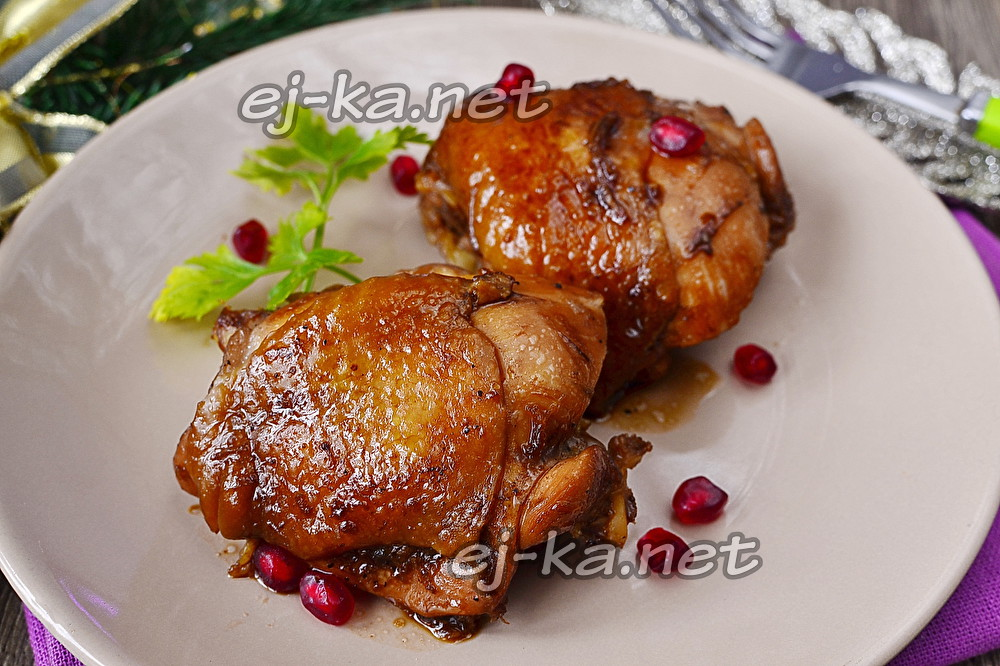 курица в соевом соусе