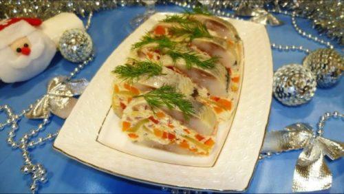 Блюда из рыбы на Новый год 2019
