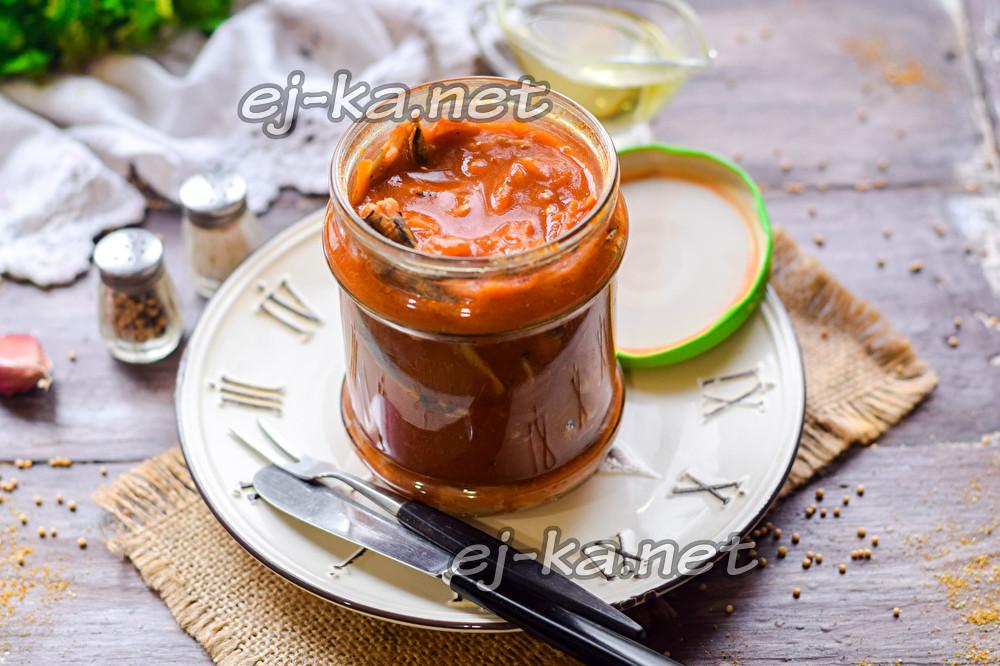 мойва в томатном соусе
